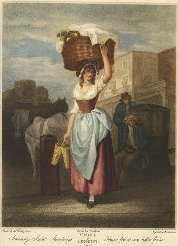 Strawberry Seller, c1780