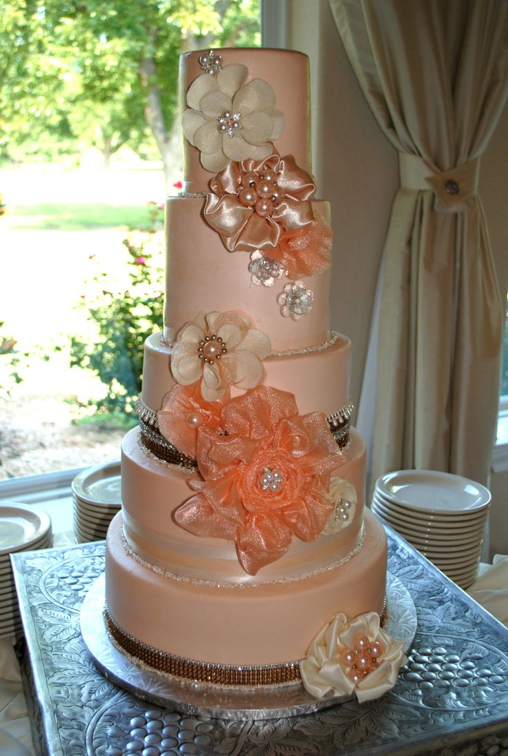 21 Best Images About Coral Cakes On Pinterest Ombre