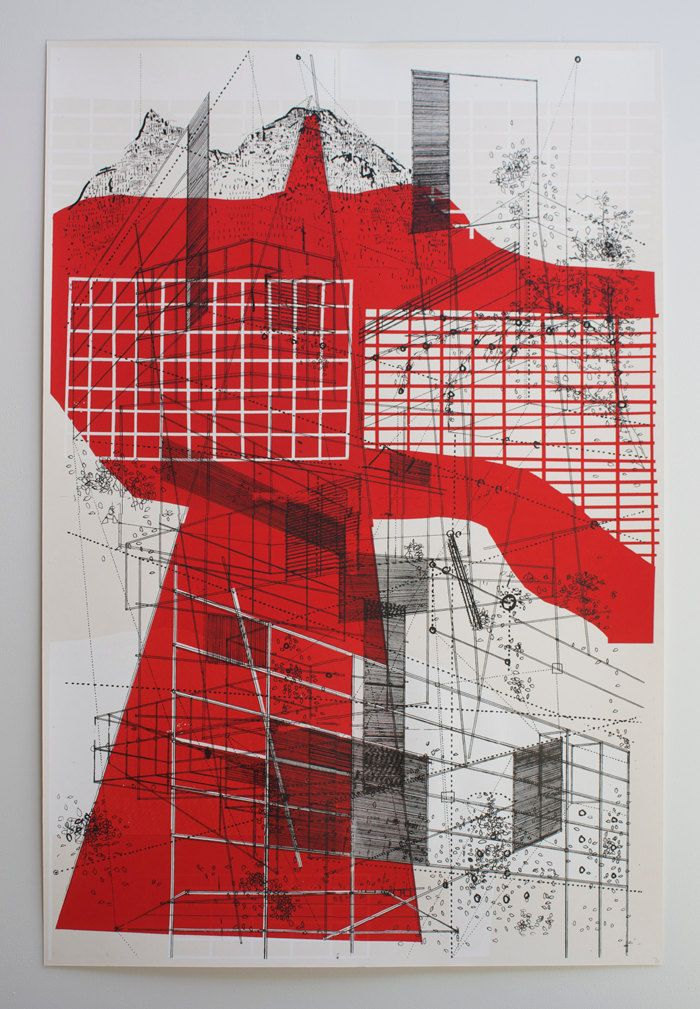 Chicago Map Grid%0A by ben kafton