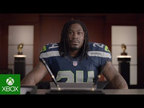 Marshawn Lynch pets raccoon, eats Skittles in new ad promoting NFL on Xbox One
