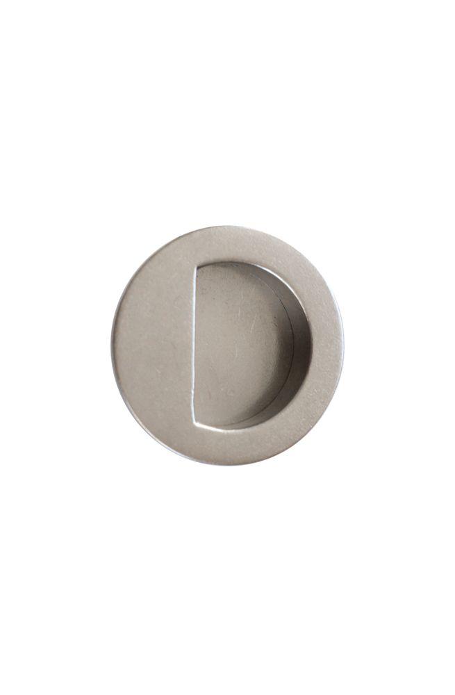 Solid Bronze Round Flush Sliding Barn Door Handle Door Handles Sliding Door Handles Barn Door Handles