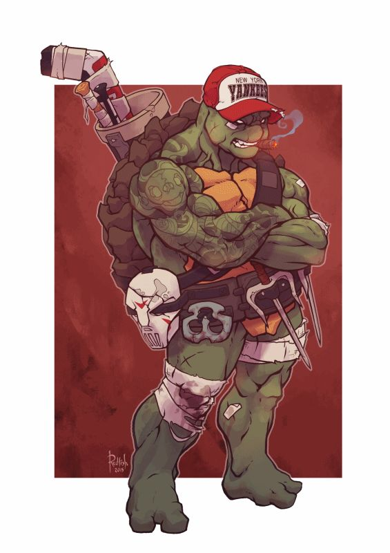 Alex Redfish – TMNT | Geek Art – Art, Design, Illustration & Pop Culture ! | Art, Design, Illustration & Pop Culture !