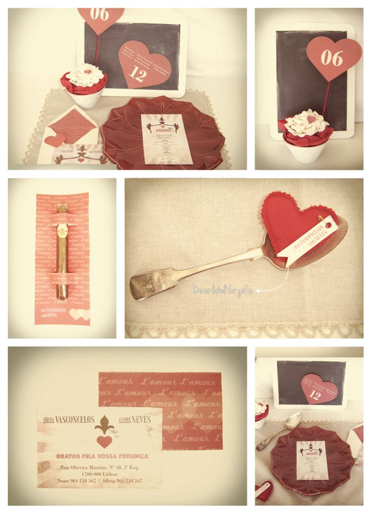 L'Amour Wedding Stationery /// www.inlove.pt