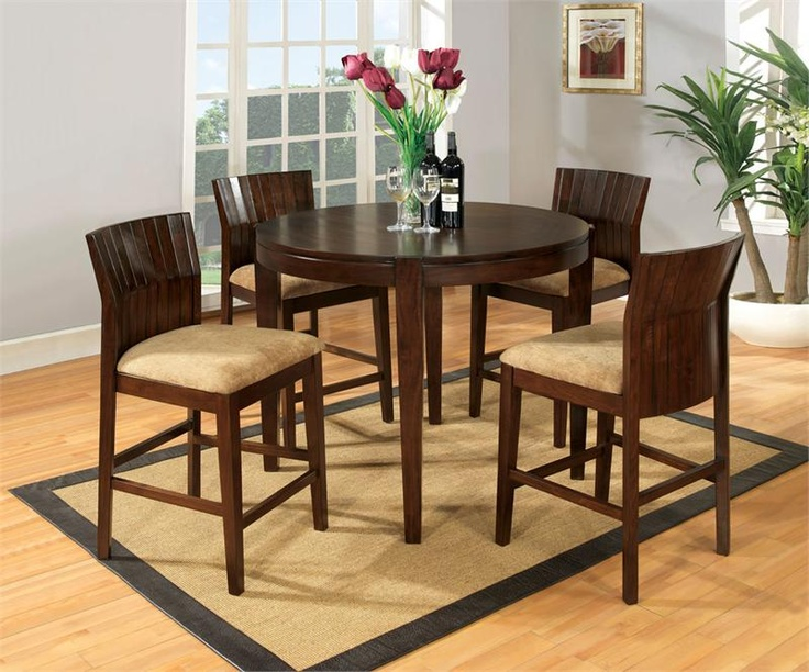 Ottawa Round Counter Height Table Set