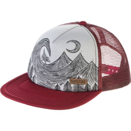 Hippy Tree Aspen Trucker Hat