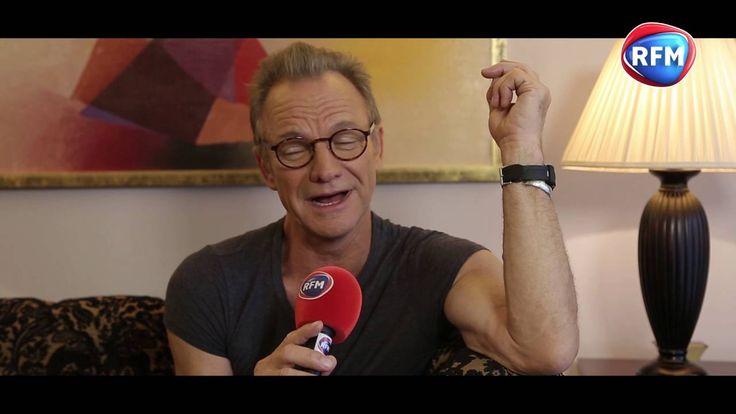 Sting en interview chez Justine Fraioli sur RFM