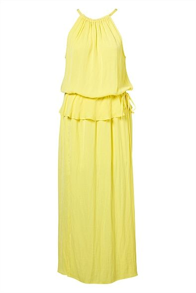 Perfect colour for summer Overlay Maxi Dress #witcherywishlist