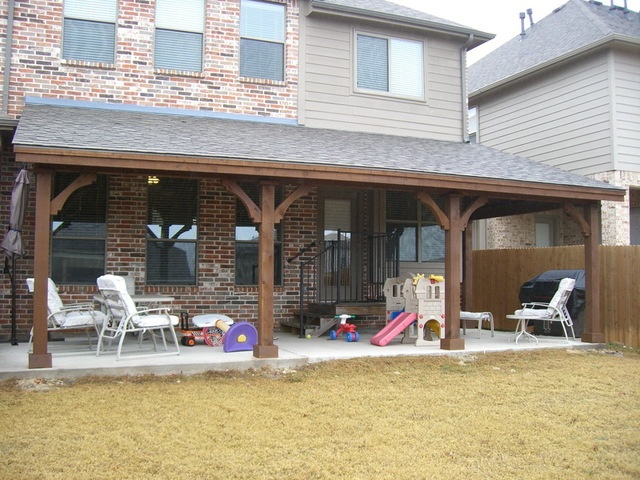 78 images about covered patios on pinterest outdoor for Shed with covered porch