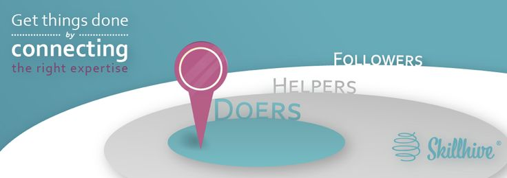The level of participation within a swarm can vary in 3 levels: Doers, Helpers and Followers http://intunex.fi/skillhive/