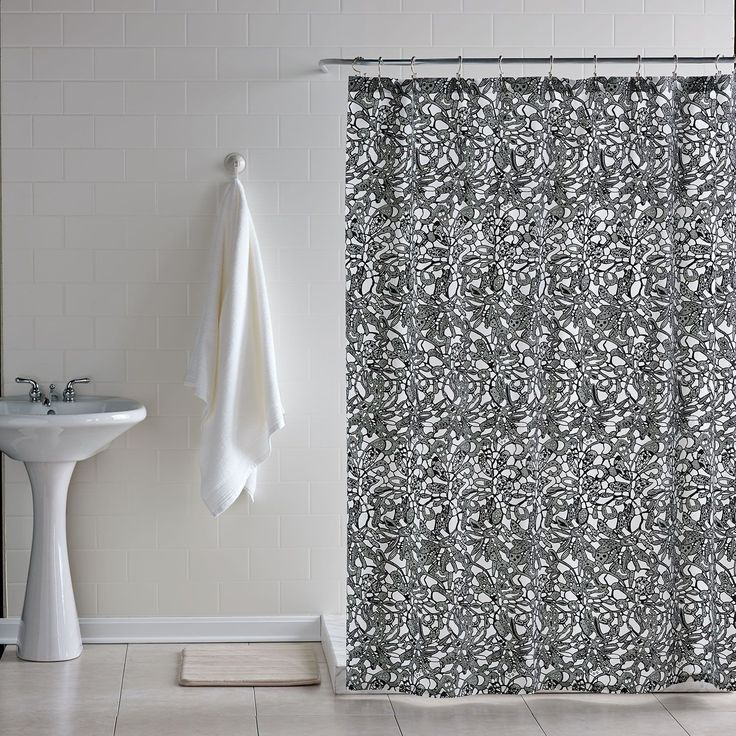 Downtown Lace Shower Curtain– Dormify