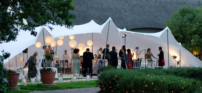 Stretch tent hire, the alternative to marquee hire in the UK - Stretch Tent Co.