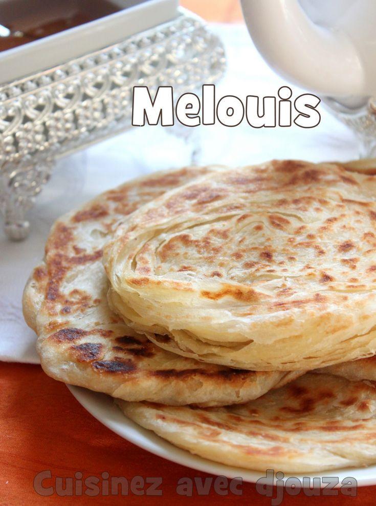 Recette meloui, crêpes marocaines feuilletées                                                                                                                                                                                 Plus