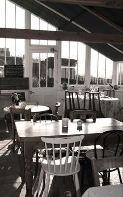 Walled Garden - Cafe The Ethicurean  #Bristol #England #UK