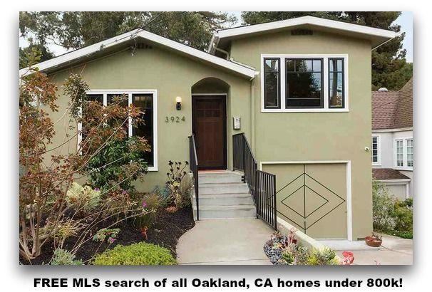 free mls search of all oakland ca homes under 800k oakland ca rh pinterest com