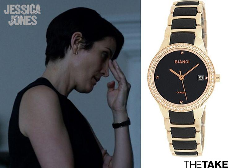 Roberto Bianci B295L Watch inspired by Jeri Hogarth in Jessica Jones | More at TheTake.com