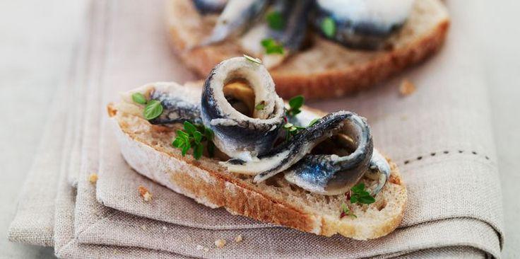 Tapas aux anchois