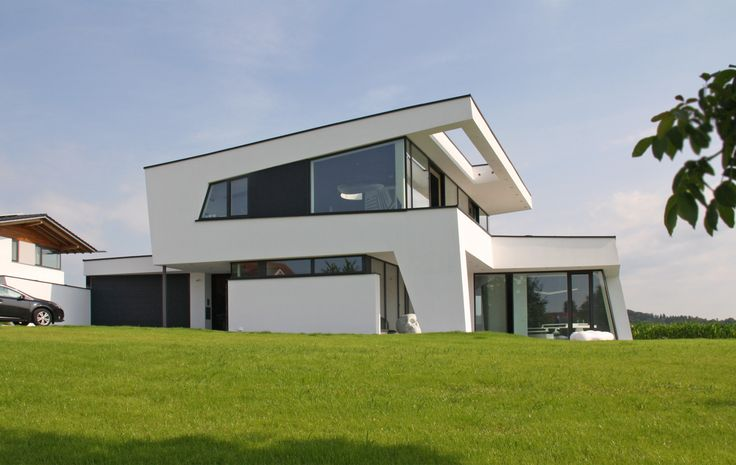 17 images about dachformen moderne architektur on for Modernes haus mit rotem dach