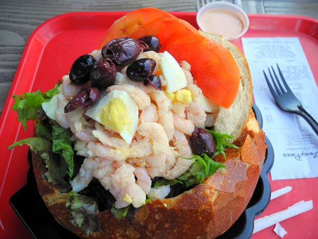 Shrimp Louie Salad at Pacific Whard Cafe