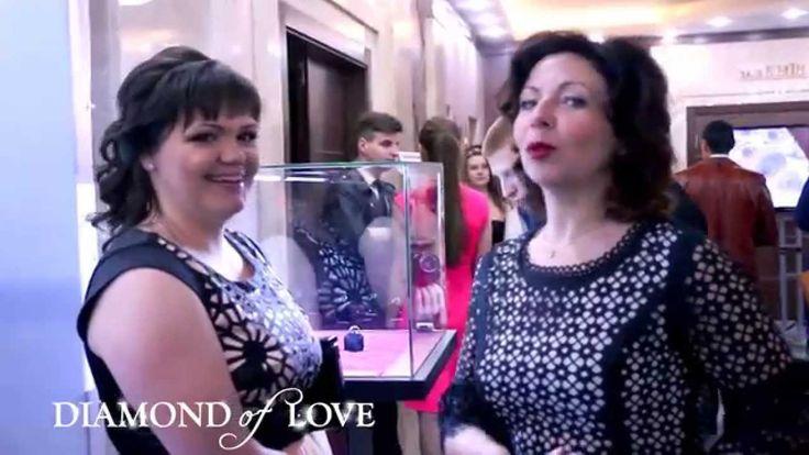 """8 апреля, в """"Европейском"""" зале """"President Hotel"""",  в рамках Второго бала открытия свадебного сезона, состоялась яркая презентация нового ювелирного бренда DIAMOND of LOVE."""