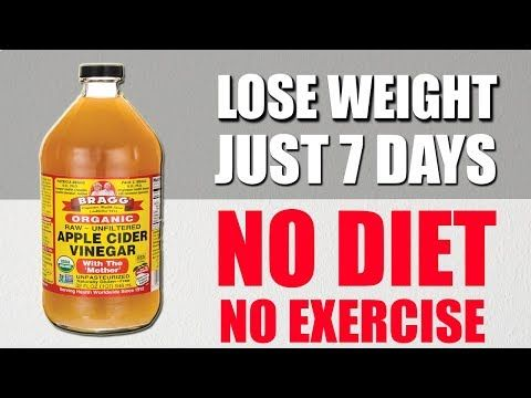How To Achieve Weight Loss Using Cider : NO DIET NO EXERCISE  How To Lose Weight...