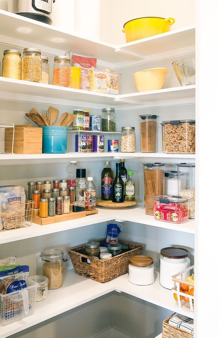 pantry organization tips using storage containers before and after rh pinterest com