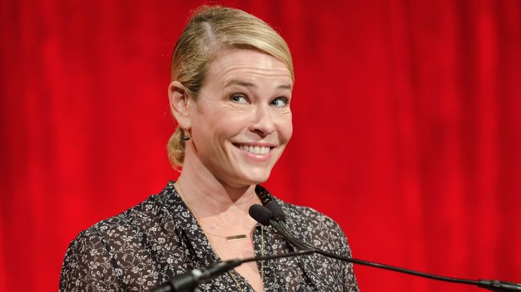 Chelsea Handler speaks at the Ms. Foundation for Women Gloria Awards at Cipriani 42nd Street on Thursday, May 1, 2014 in New York.