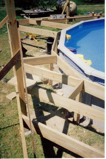 Pool Deck Framing Pics Lewisburg Oh Pool Deck Framing