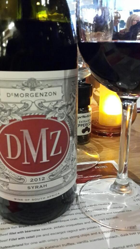 What a pleasant surprise to drink  @DMZwine Syrah 2012. Plush berries &spice with velvety wood finish. Young but gr8 pic.twitter.com/6mE6xxreyg