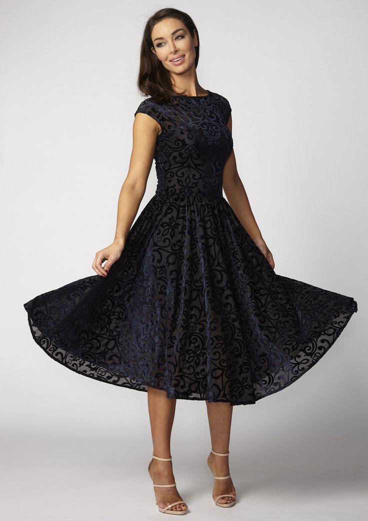 Very Very - Laura Full Circle Dress With Slip