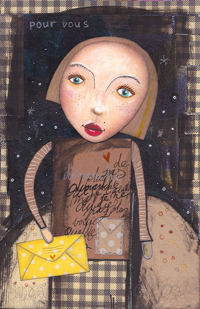 Art Journal | Mixed Media | Collage | Sakura Pigma Micron | Sakura Gelly Rolls | Bloknote | Blognotes by Marieke Blokland