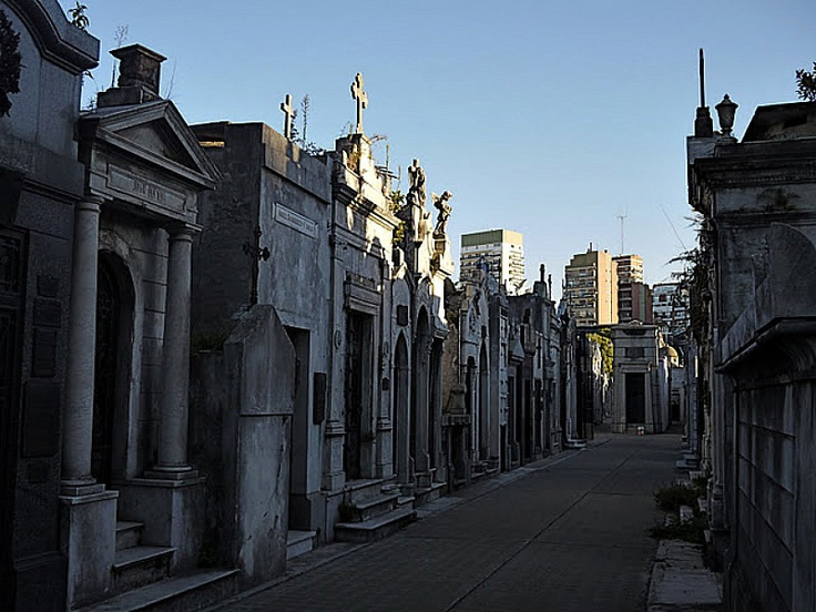 On the must visit list: Recoleta Cemetery