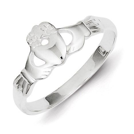 Sterling Silver Claddagh Ring by Versil