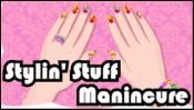 Stylin' Stuff Manicure on PrimaryGames.com - Polish your style with great hand and nail fashions you design in this online manicure game. Use your fashion sense to create looks that shine.