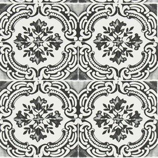 azulejos - oeillet wallpaper | Christian Lacroix