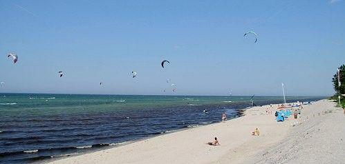 Kitesurfen auf der Ostsee