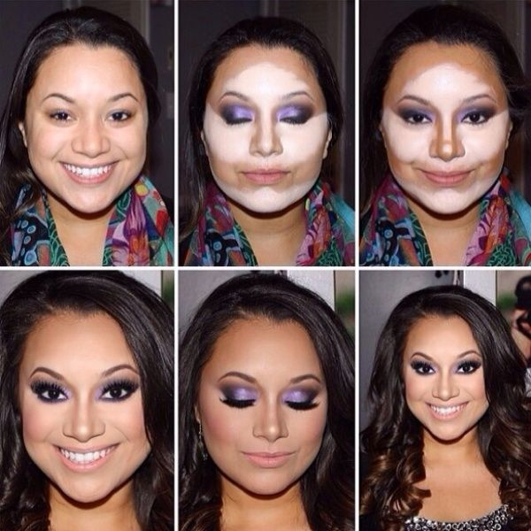 How to Contour Your Face!!!amazing transformation.DIY!!! 5 PHOTOS | See more about How To Contour, Contour Face and Contours.