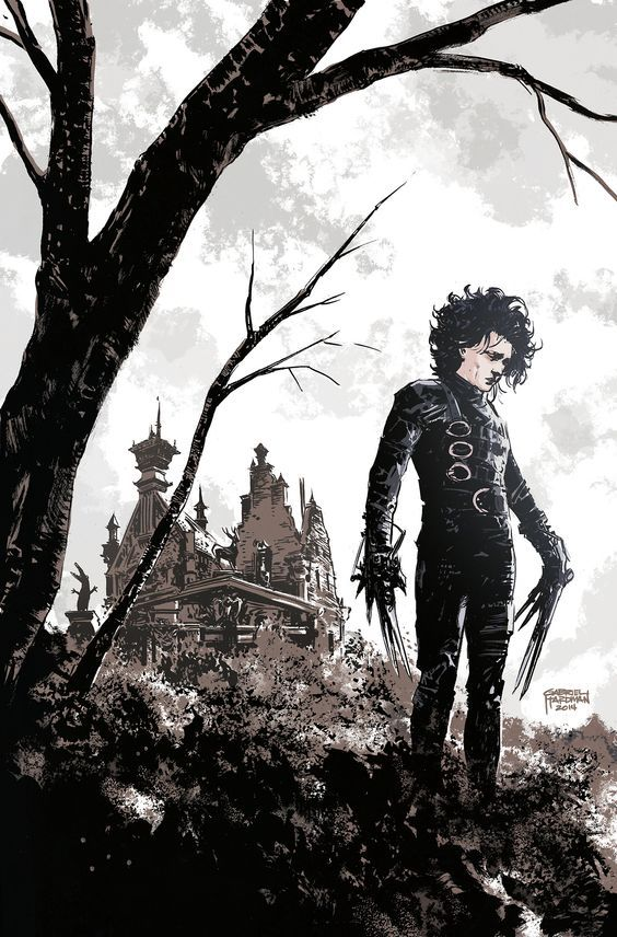 "johnny-dynamo: ""Edward Scissorhands by Daniel Hardman """