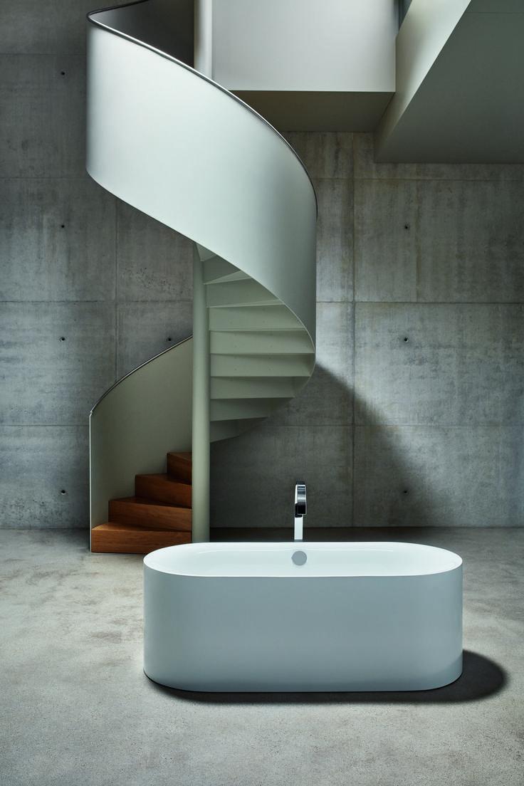Bette Lux Oval Silhouette Badewanne Freistehend 170x75x45cm 2 R Ckenschr Gen 3465cfxxs In 2020 Badewanne Runde Treppen Und Badezimmer Inspiration