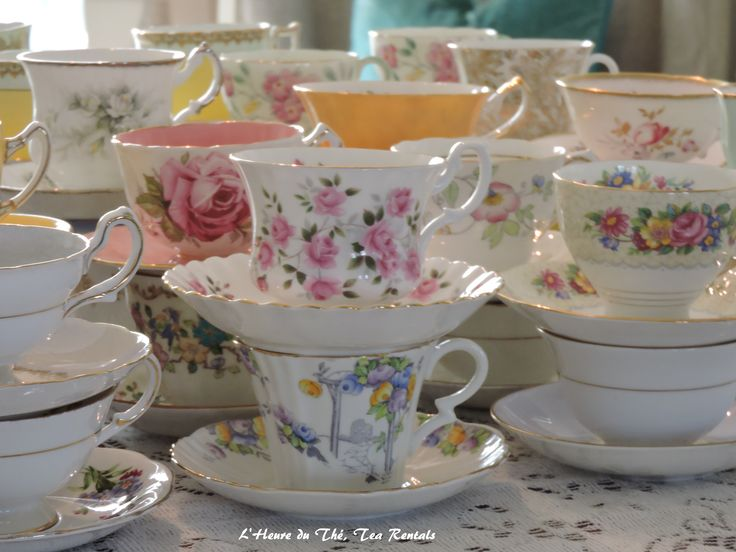 Vintage Mix and Match Tea Cups Bone China England