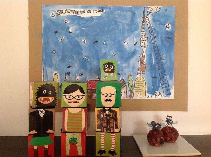 Kinderkunst door Chris en Floor