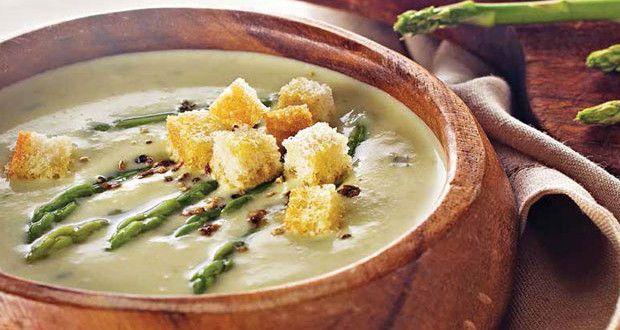 Kuşkonmaz Çorbası | Mutfakta Yemek Tarifleri
