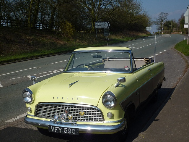 Ford Consul Convertible | Flickr - Photo Sharing!