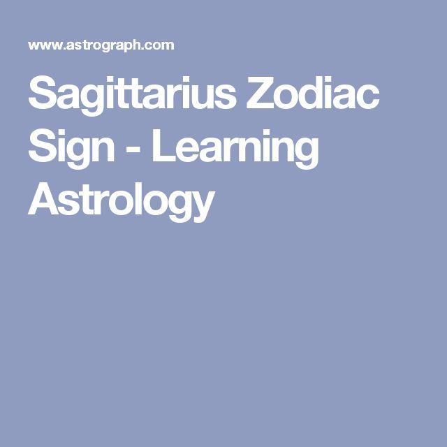Sagittarius Zodiac Sign - Learning Astrology