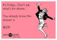 It's Friday...