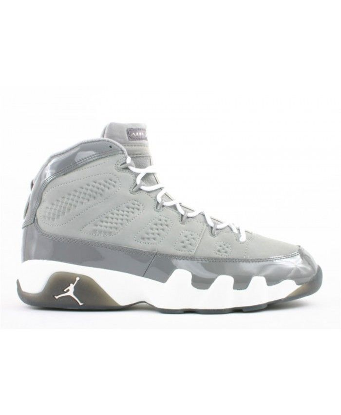 0a9e6b3d0b01 Air Jordan 9 Retro Cool Grey Medium Grey White Cool Grey 302370 011 ...