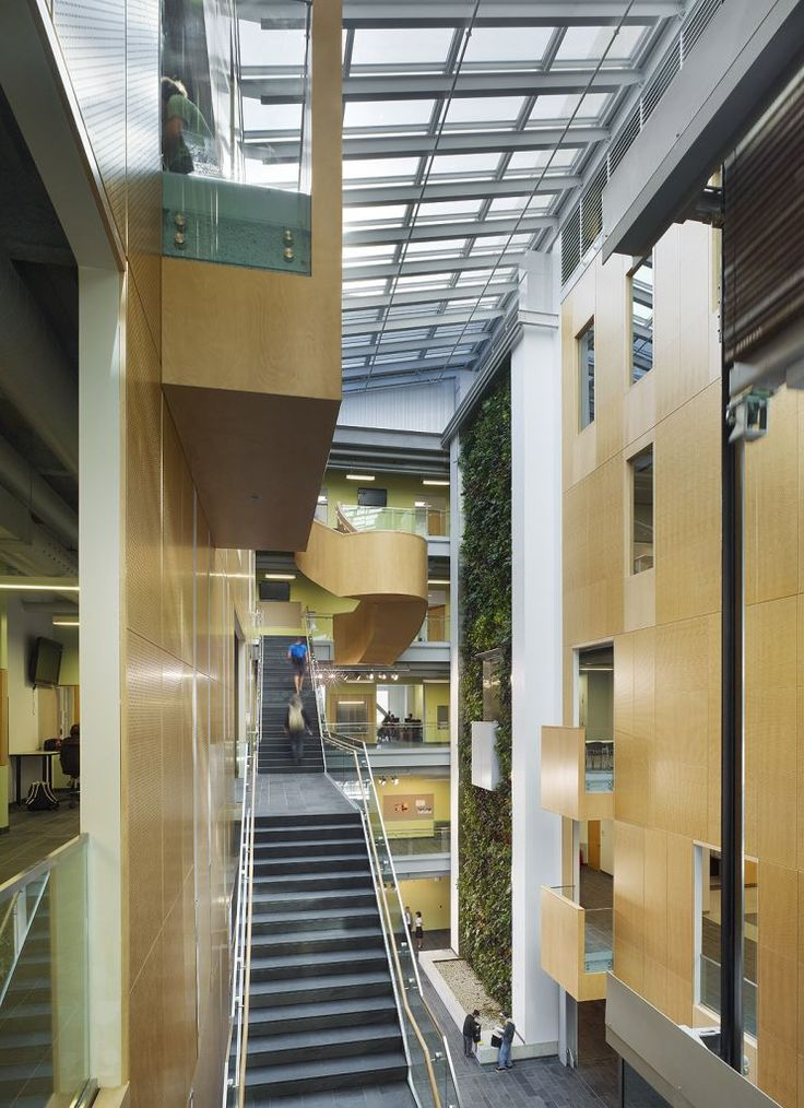 Architectural indoor atriums last month the winners of for Indoor gardening ontario