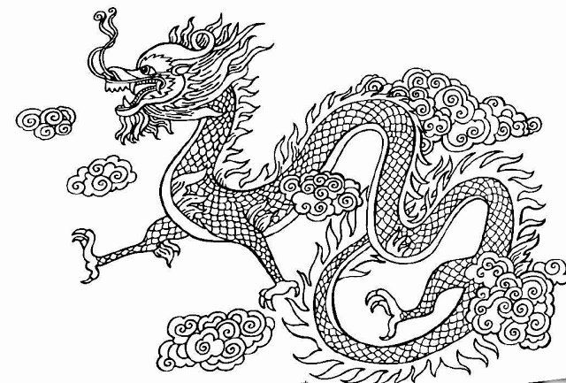 Chinese Dragon Coloring Pages New The Helpful Art Teacher Dragons Of Ancient China Dragon Coloring Page New Year Coloring Pages Chinese New Year Dragon