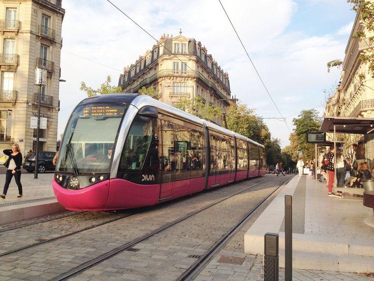 Trams de Dijon (France)