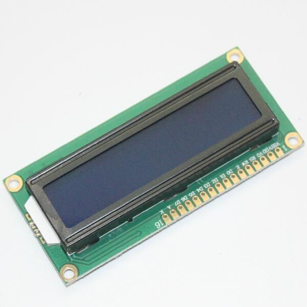 Módulo LCD Monitor de Pantalla de 1602 5 V Pantalla Azul Y Blanco Código para Arduino uno 2560 Raspberry PI Junta