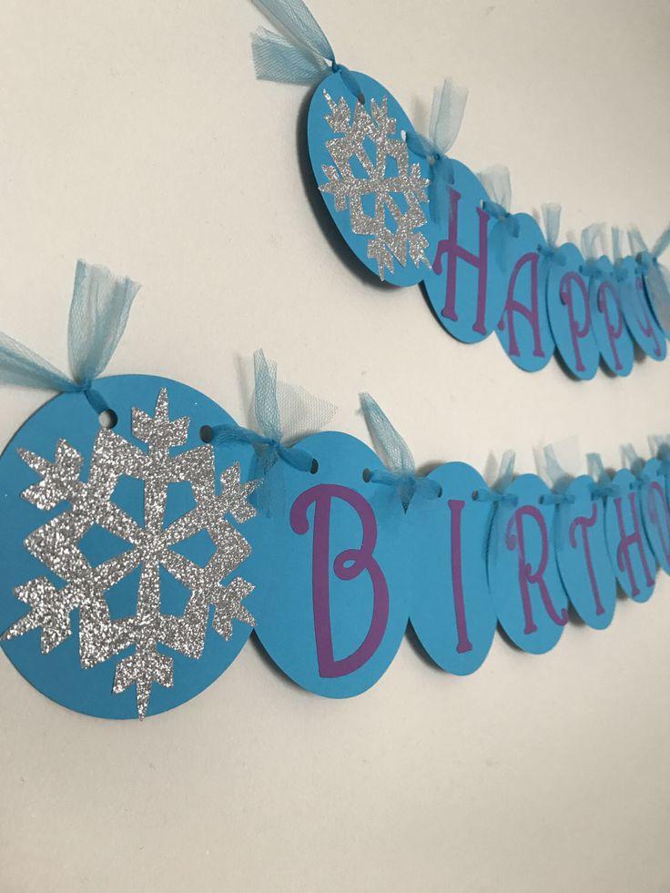 best 25 frozen birthday banner ideas on pinterest